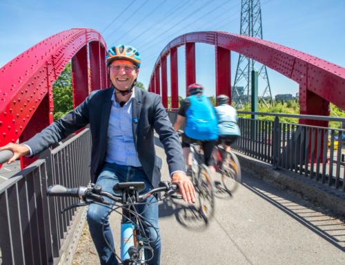 Radschnellweg Ruhr: Auf Streifzug durch den ehemaligen Kohlenpott